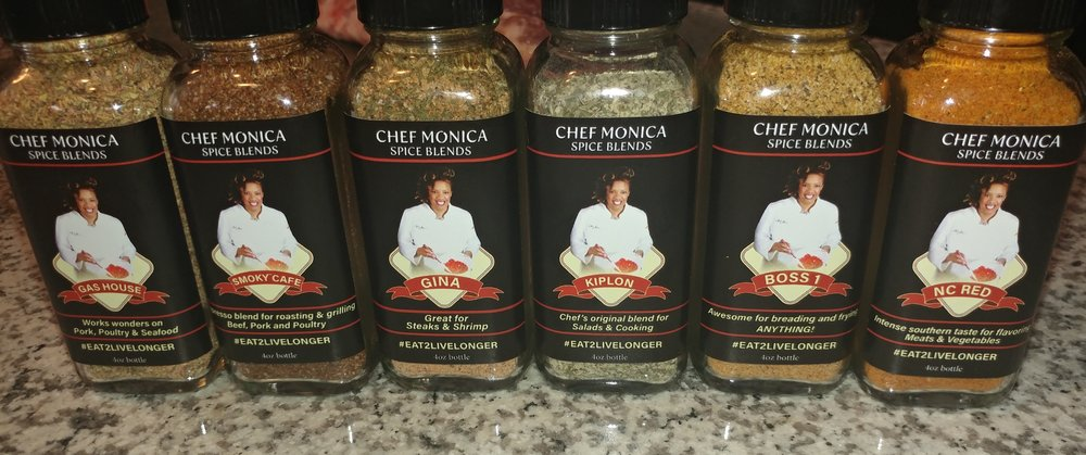 choose the Gina Spice blend for your family or experience all 6 Spice Blends in your kitchen!