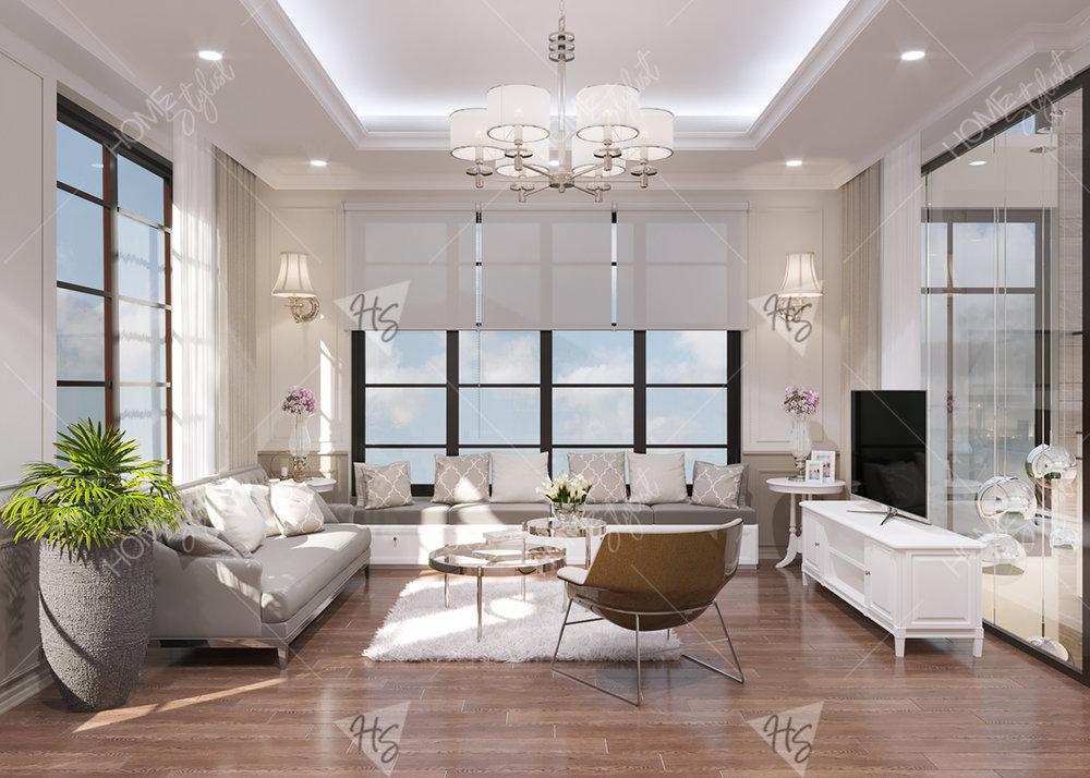 Thiết kế nội thất châu á hiện đại