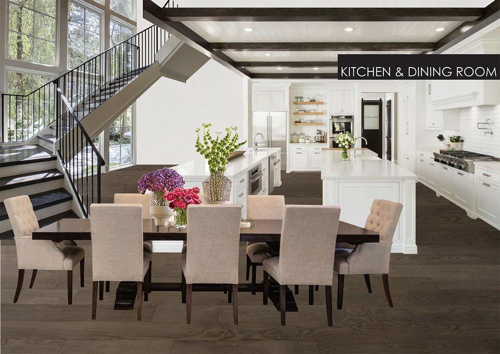 Concept Phòng Bếp