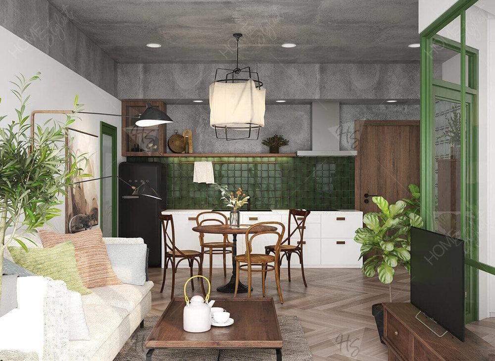 Căn hộ chung cư (concept)