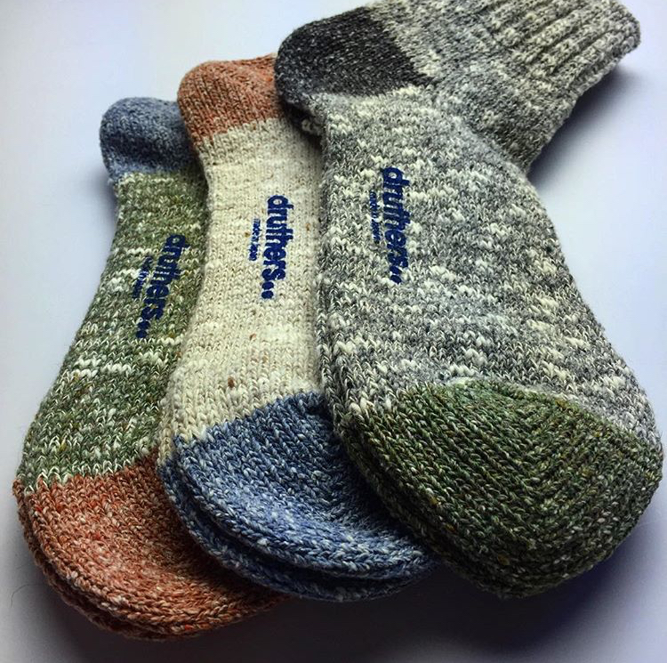 Recycle yarn socks.