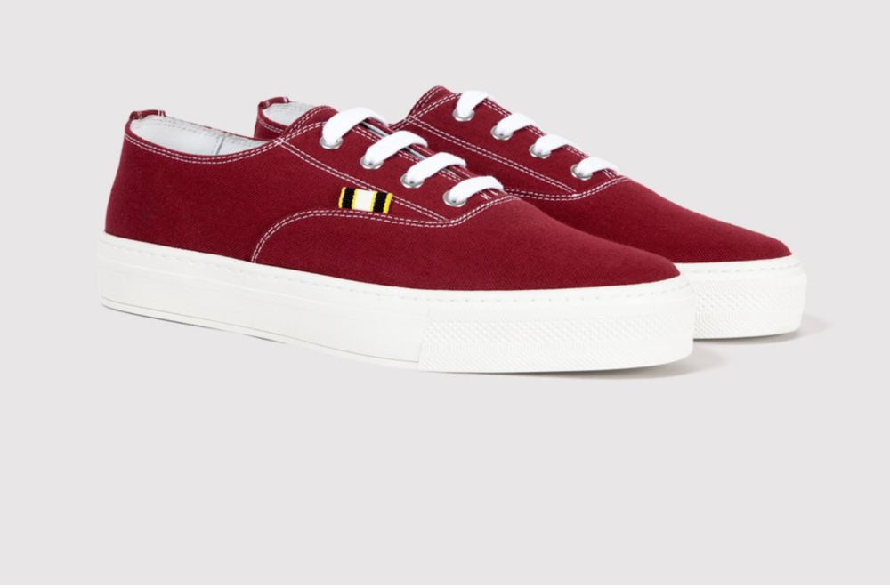Canvas- Burgundy