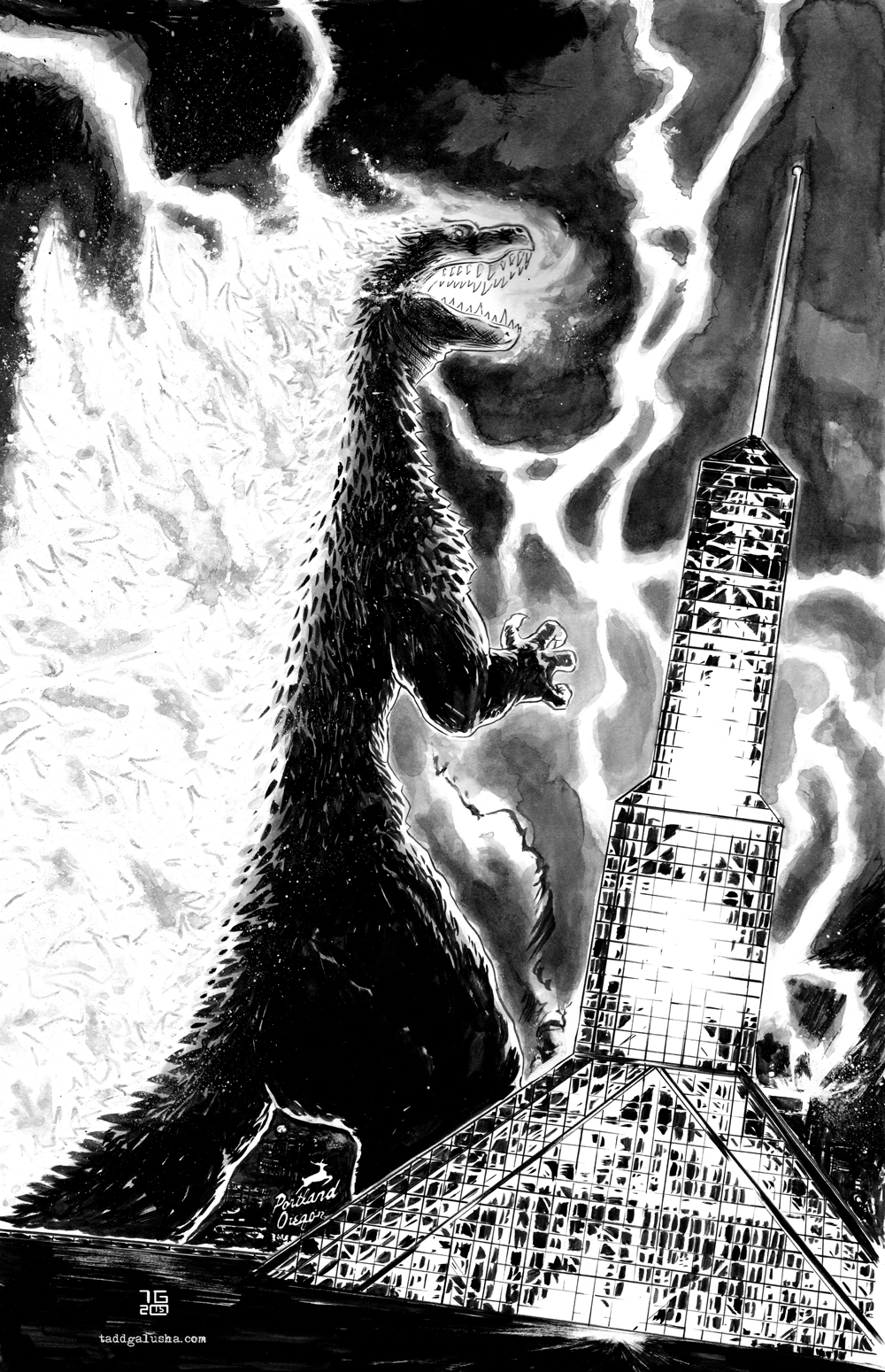 Rose City Zilla inks.jpeg