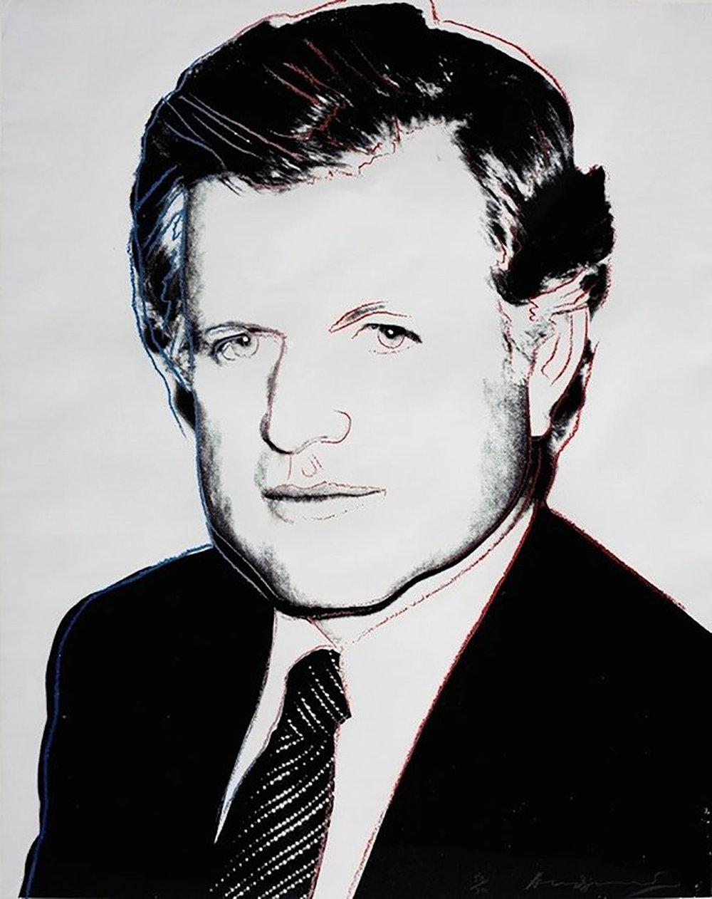 Andy Warhol - Edward Kennedy (FS II.240)