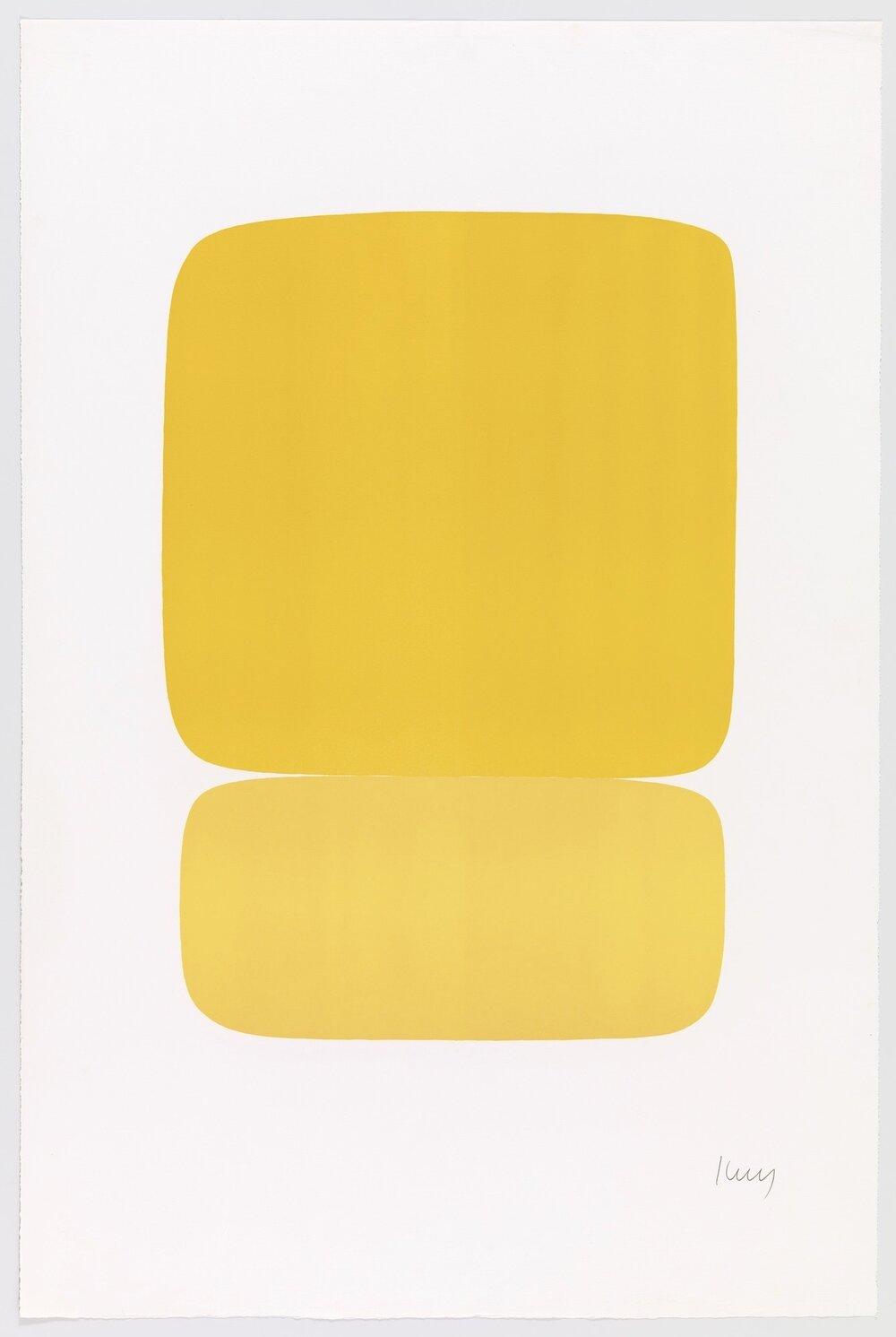 Ellsworth Kelly - Yellow over Yellow