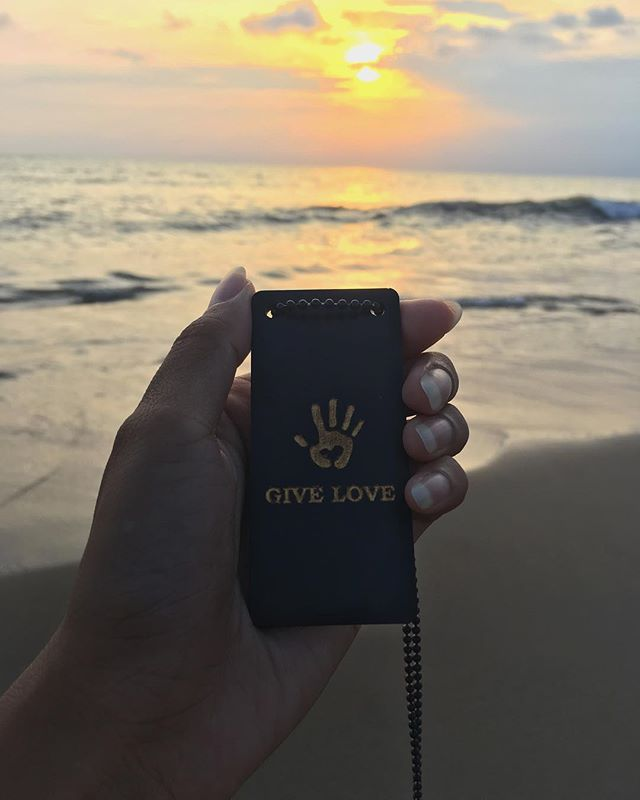 Give like the sun gives to the earth. Give constantly. Give your warmth. Give your love to every person you meet. . . .  JOIN THE MOVEMENT www.giveloveproject.com