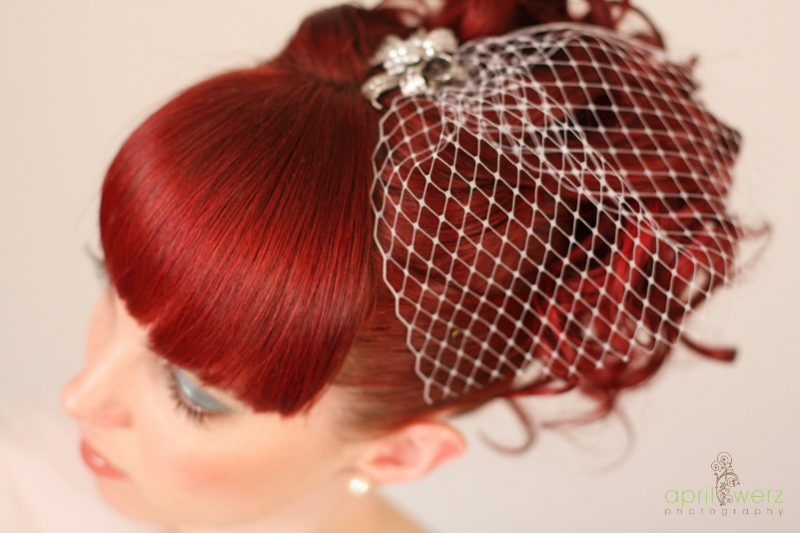 Artistic Wedding Hair Upstyle Designs