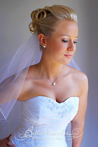 Bridal hair and Airbrush Makeup