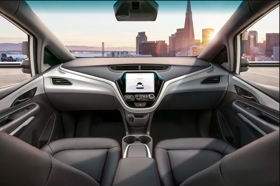 GM self-driving car