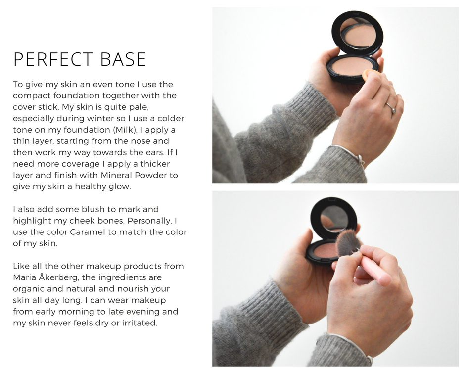 The perfect base with organic makeup