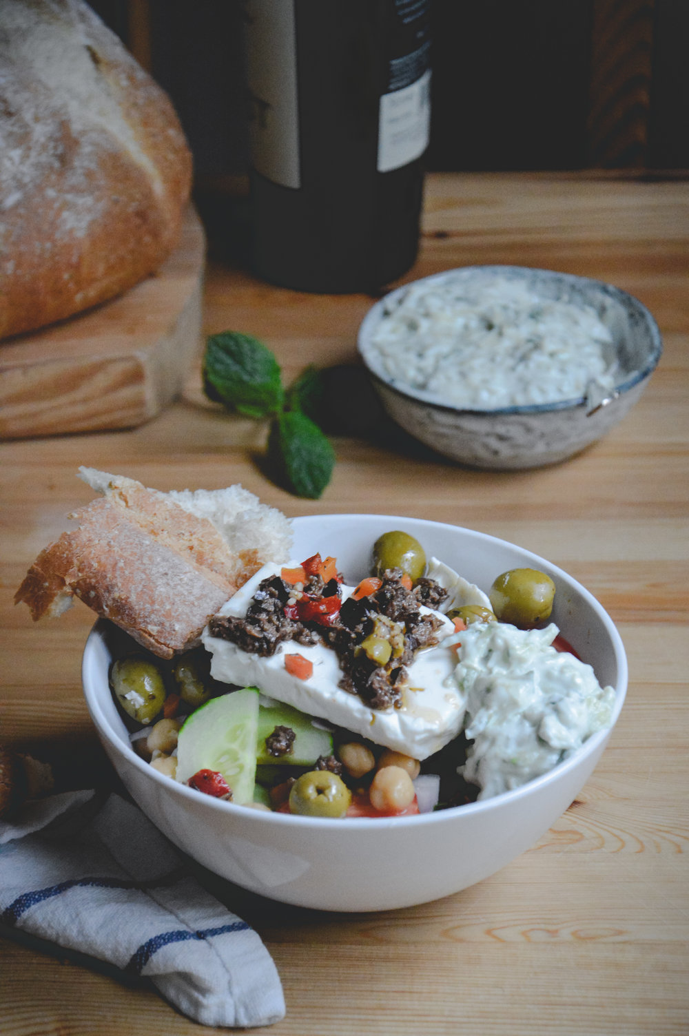 Greek Salad - The Nordic Kitchen