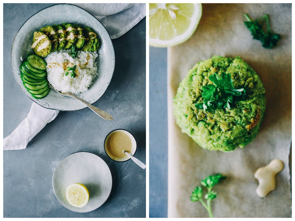 Green Pea Patties | The Nordic Kitchen