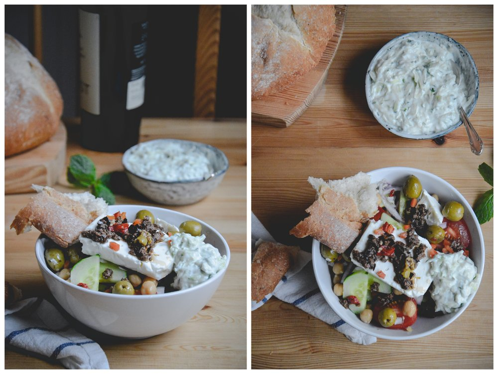 Greek Salad - The Nordic Kitchen