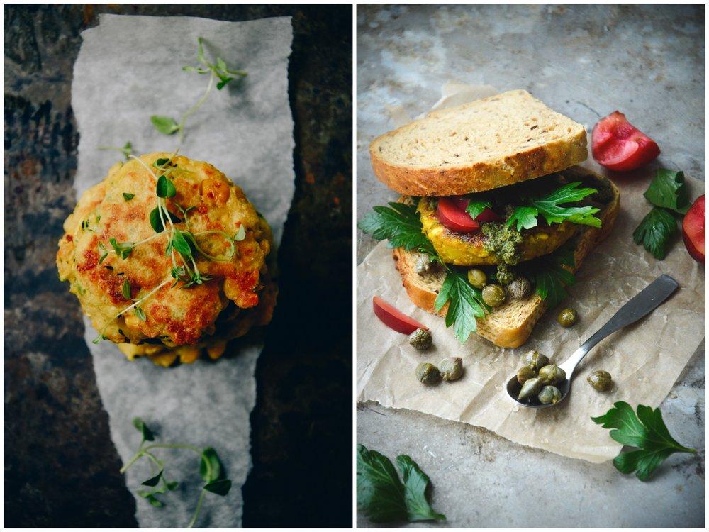 Zucchini & corn patties | The Nordic Kitchen