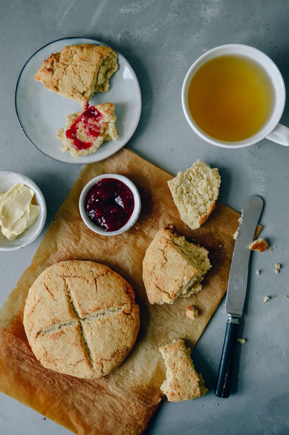 Glutenfree scones | 北欧厨房