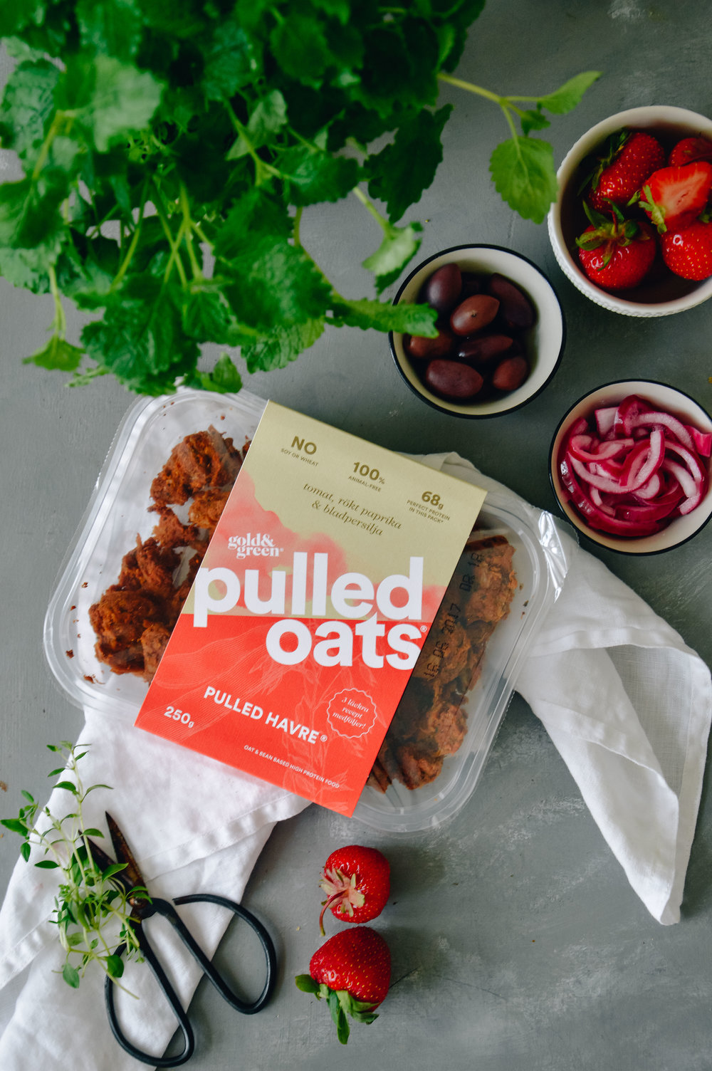 Pulled Oats Wraps | The Nordic Kitchen