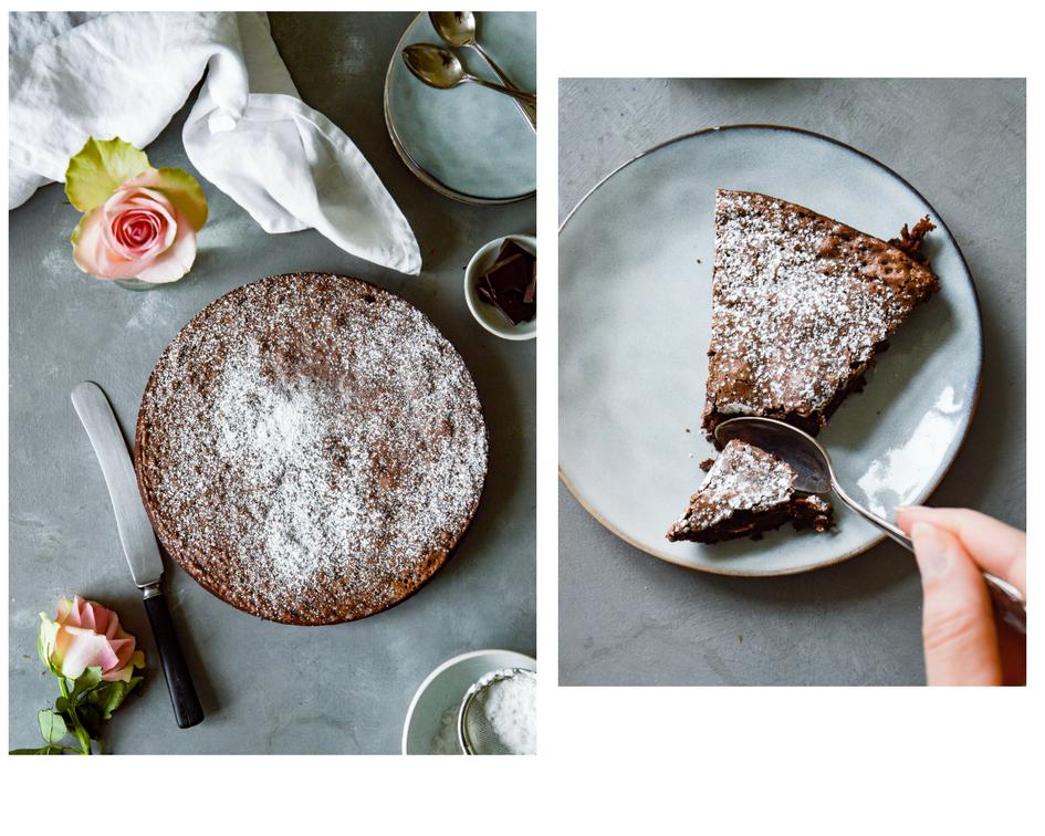 Kladdkaka - Swedish Chocolate Cake | The Nordic Kitchen