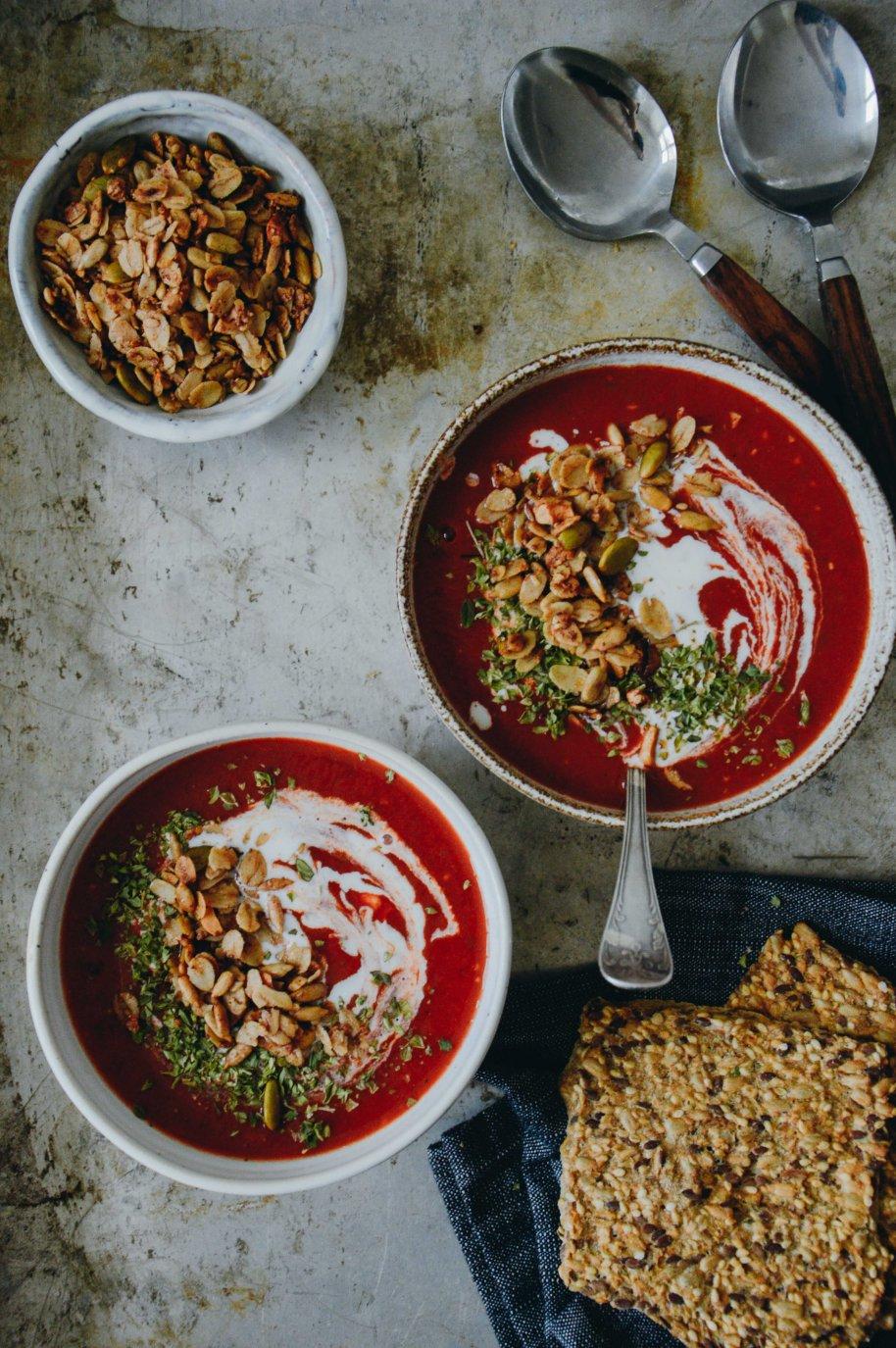 Vegan Tomato Soup | The Nordic Kitchen