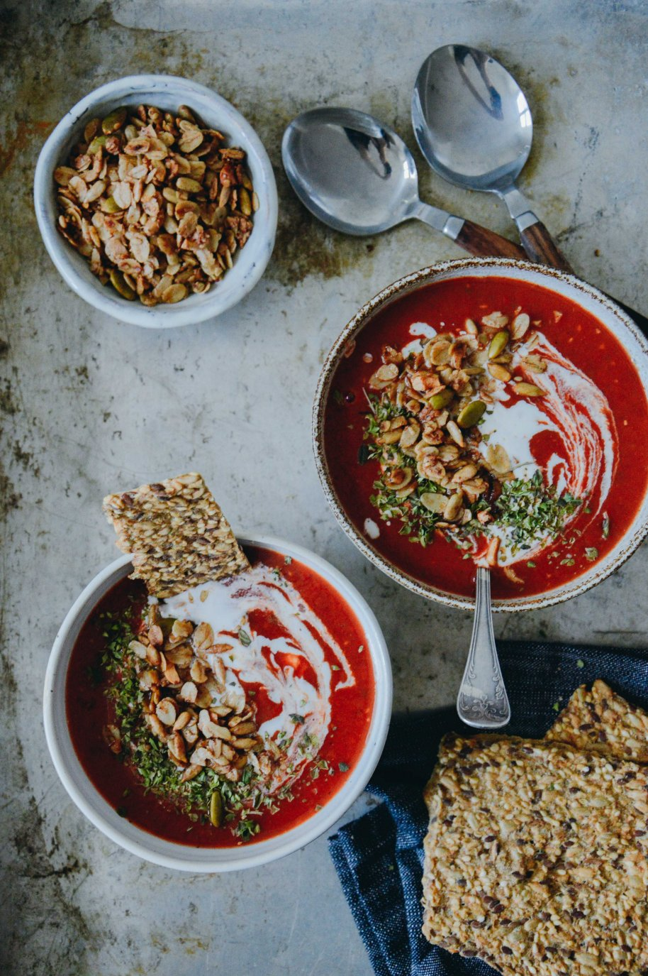 Vegan Tomato Soup | The Nordic Kitchen