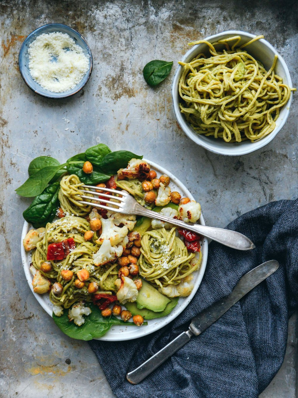 Vegetarian Pesto Pasta | The Nordic Kitchen