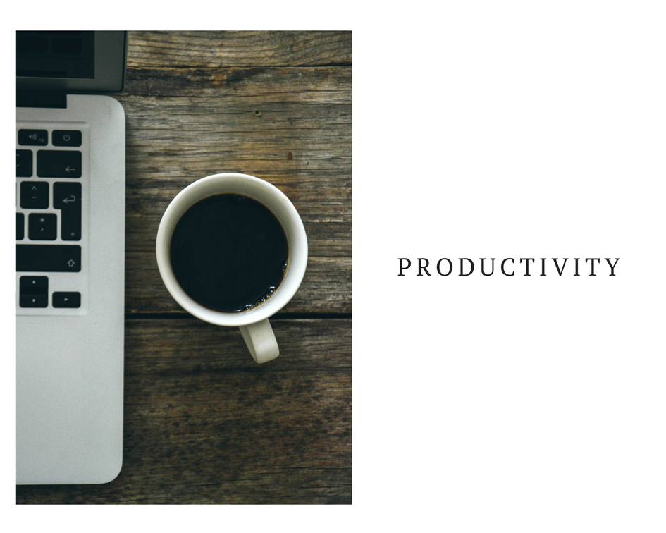 6 ways to become more productive