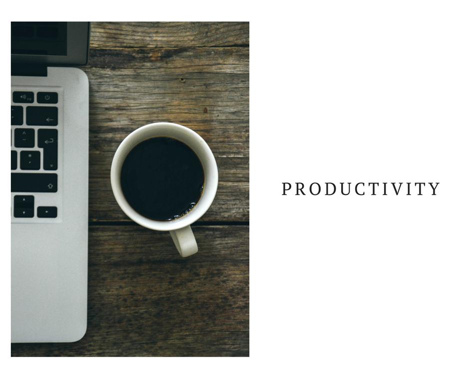 6种提高生产力的方法
