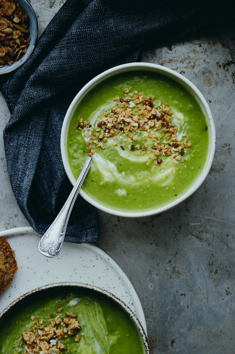 Vegan  绿豌豆汤  | 北欧厨房
