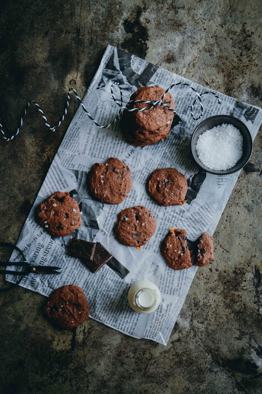 Glutenfree chocolate chip cookies | The Nordic Kitchen