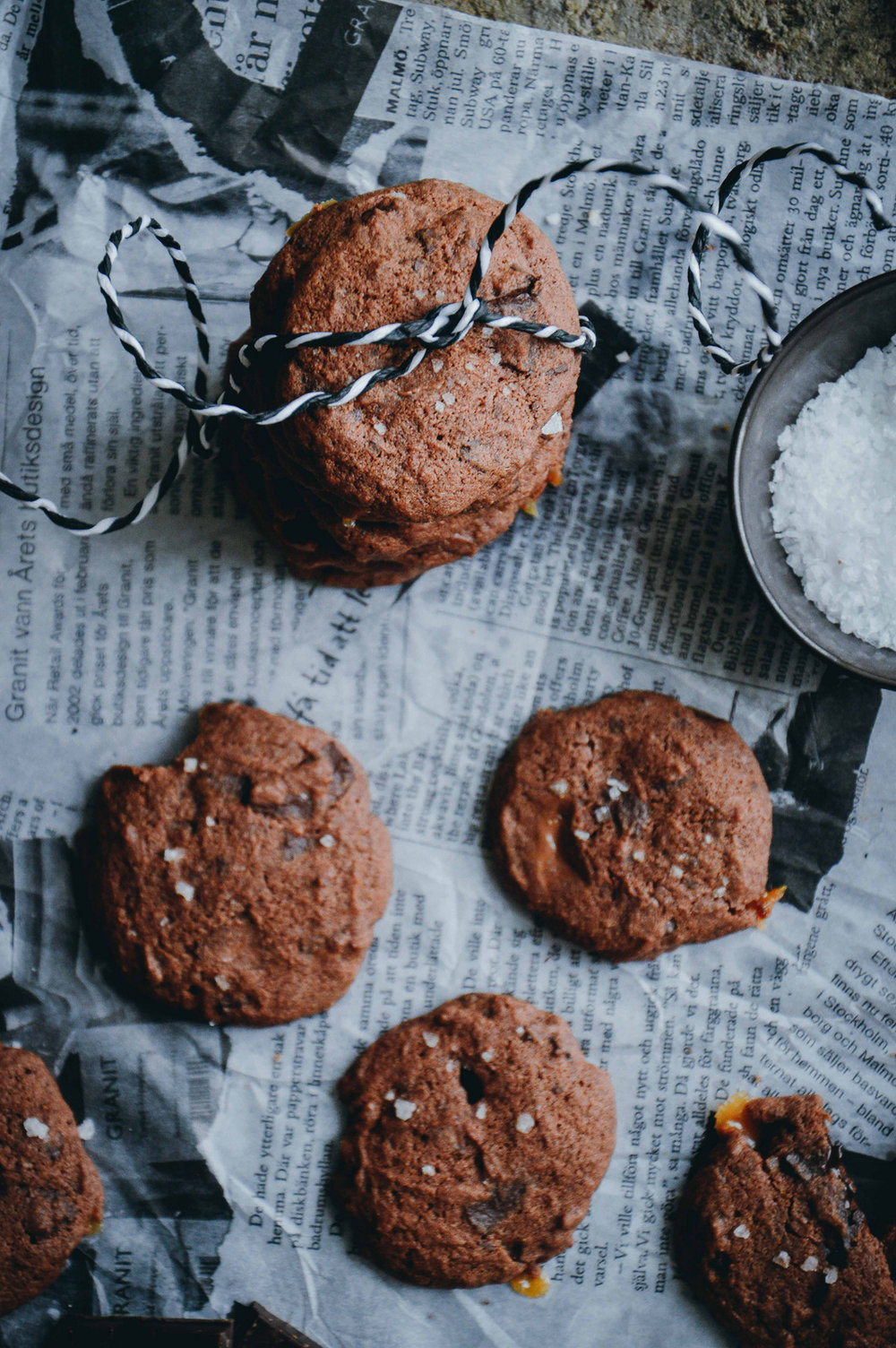 Glutenfree chocolate chip cookies   北欧厨房