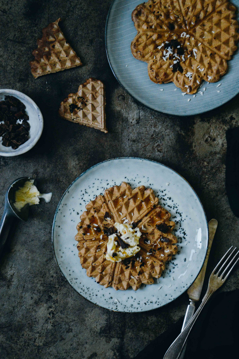 Glutenfree chocolate waffles | The Nordic Kitchen