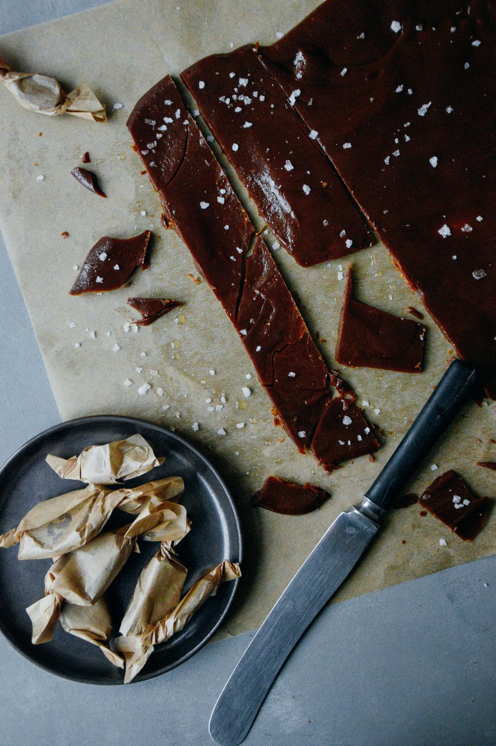 Vegan coconut toffee caramels | 北欧厨房
