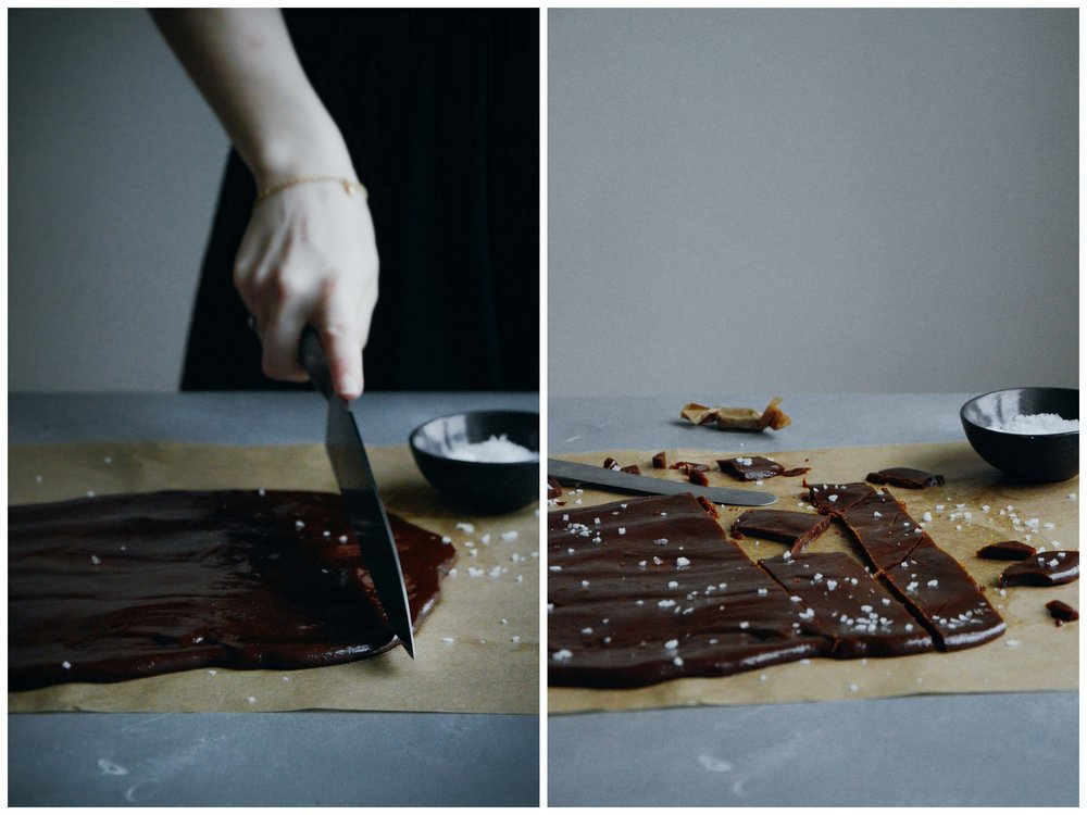 Vegan coconut toffee caramels | The Nordic Kitchen