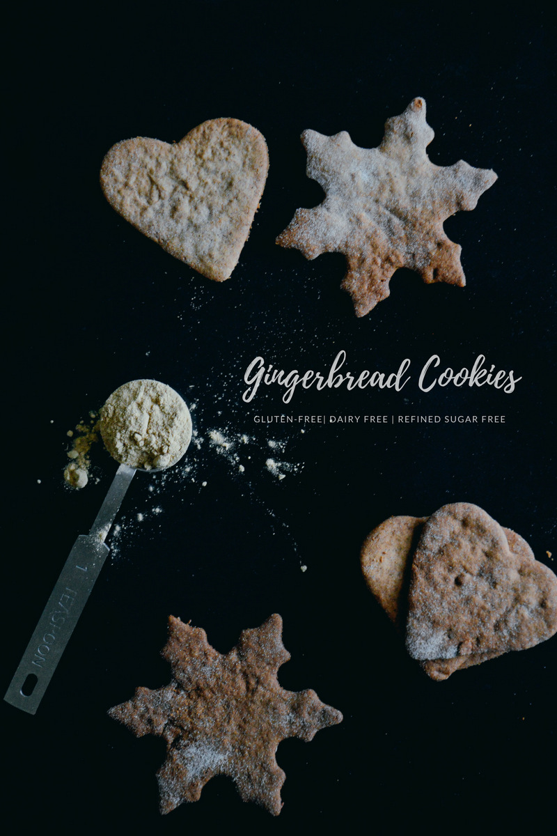 Glutenfree + dairy free gingerbread cookies | 北欧厨房