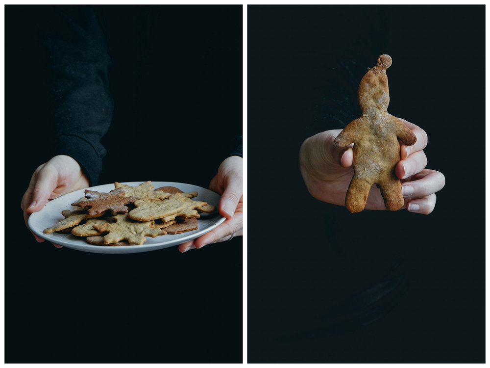 Glutenfree + dairy free gingerbread cookies | The Nordic Kitchen