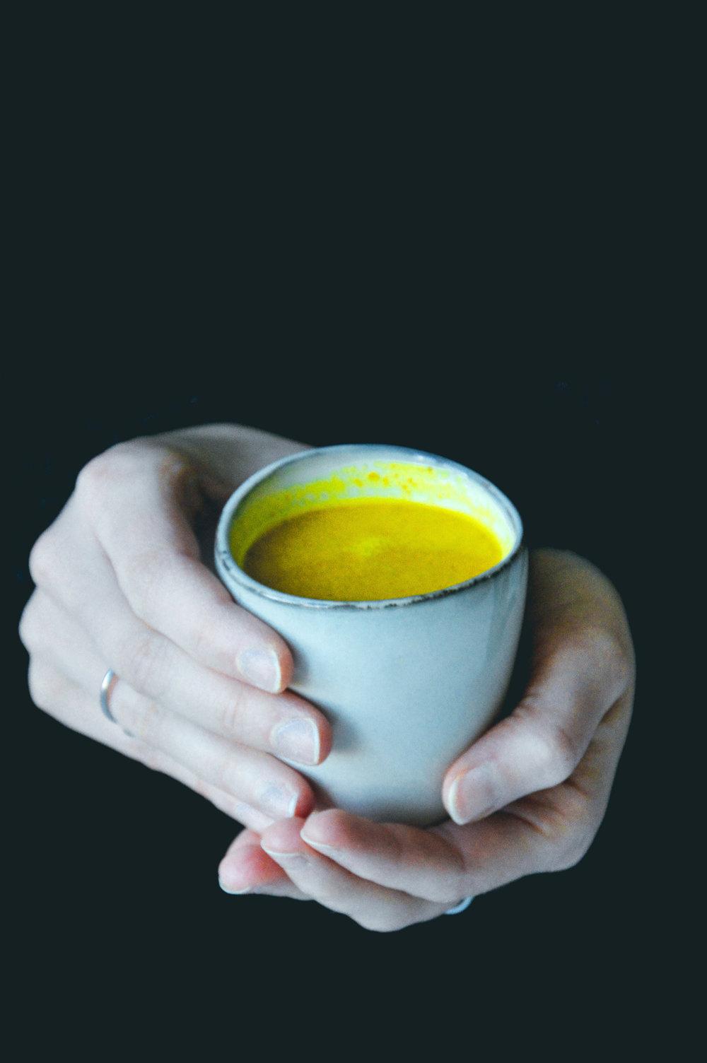 金牛奶- the healthy turmeric drink | 北欧厨房
