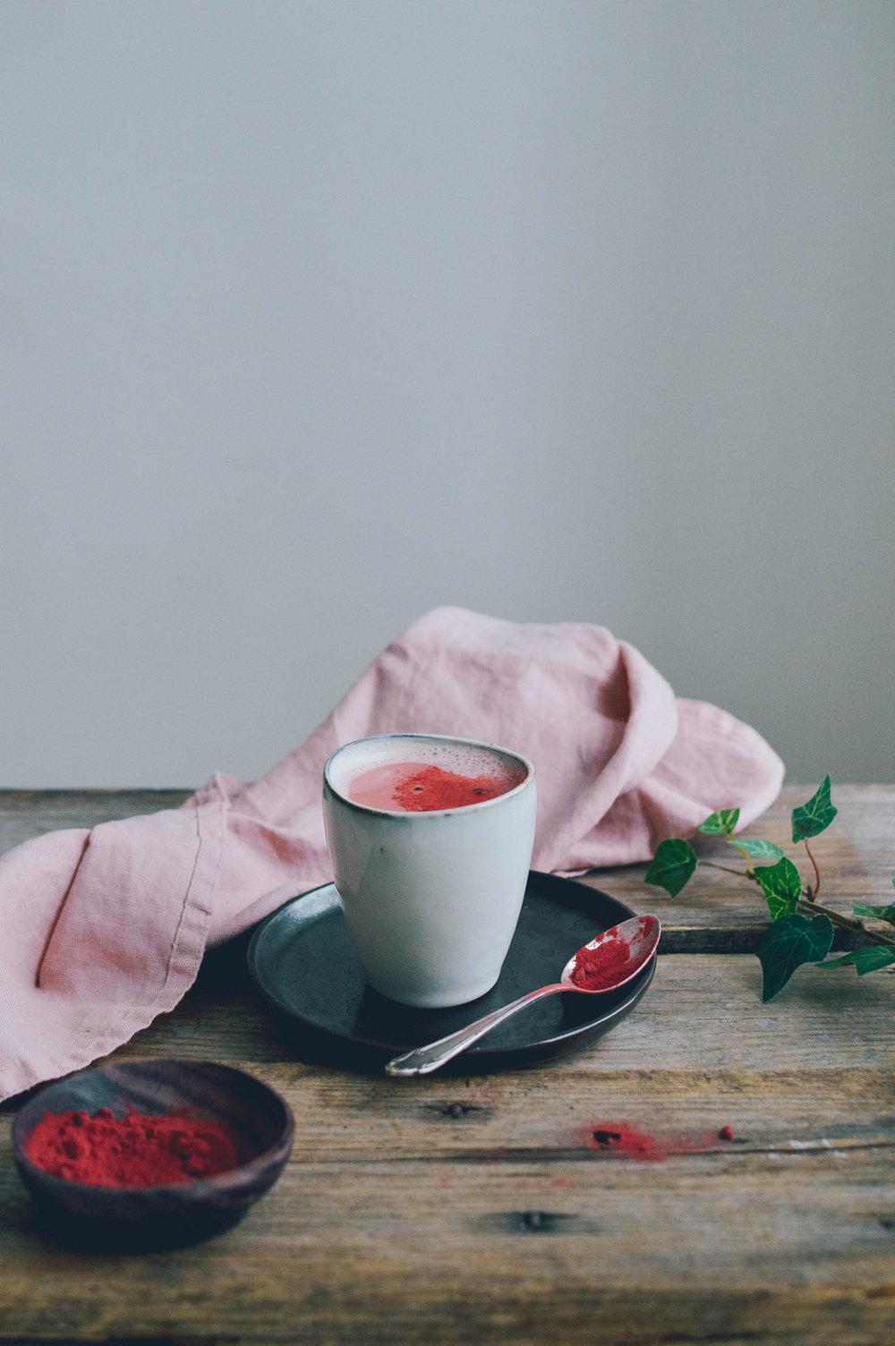 天鹅绒拿铁|甜菜根拿铁- 北欧厨房