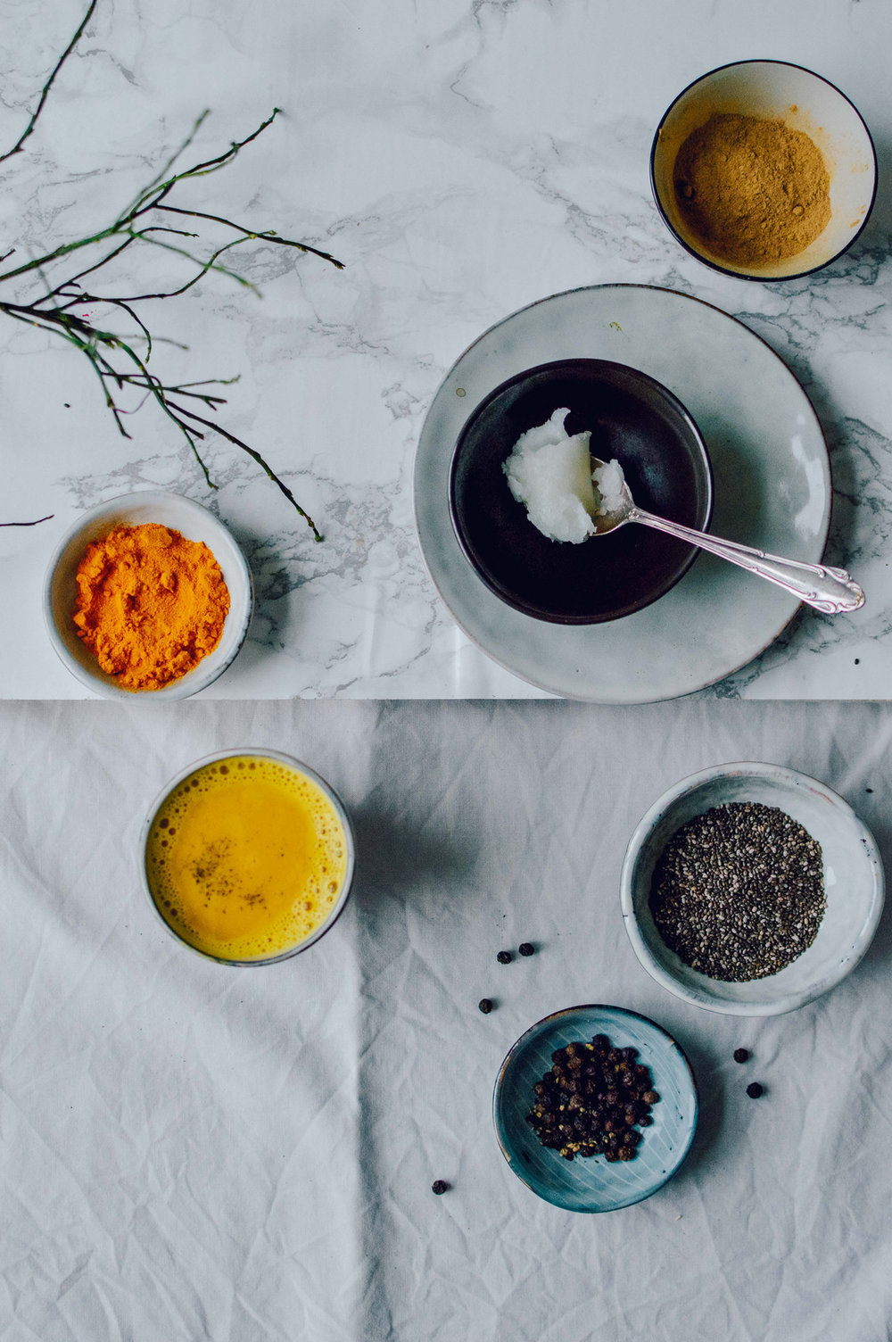 Golden milk - the healthy turmeric drink | v + gf — The Nordic Kitchen