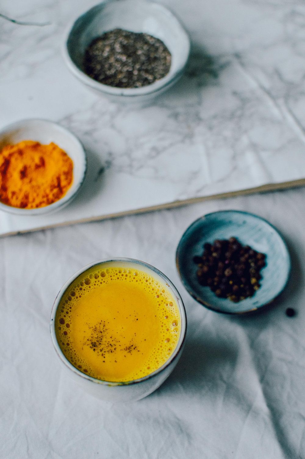 Golden milk - the healthy turmeric drink | The Nordic Kitchen