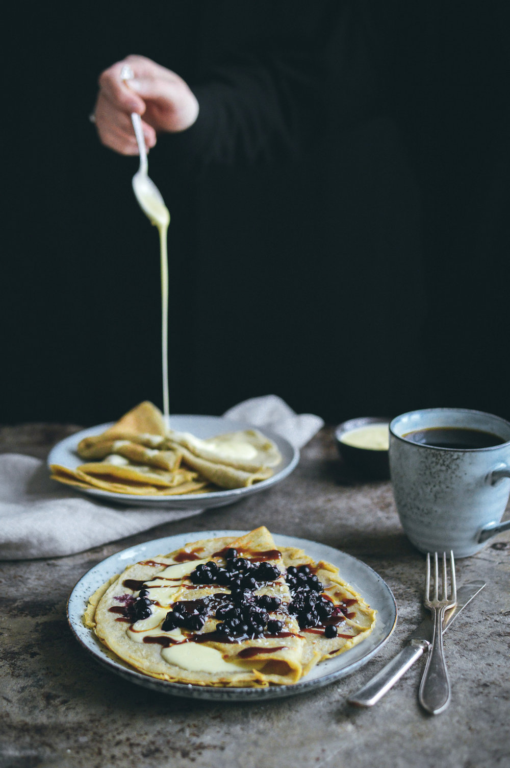 Green Pea Pancakes | 北欧厨房