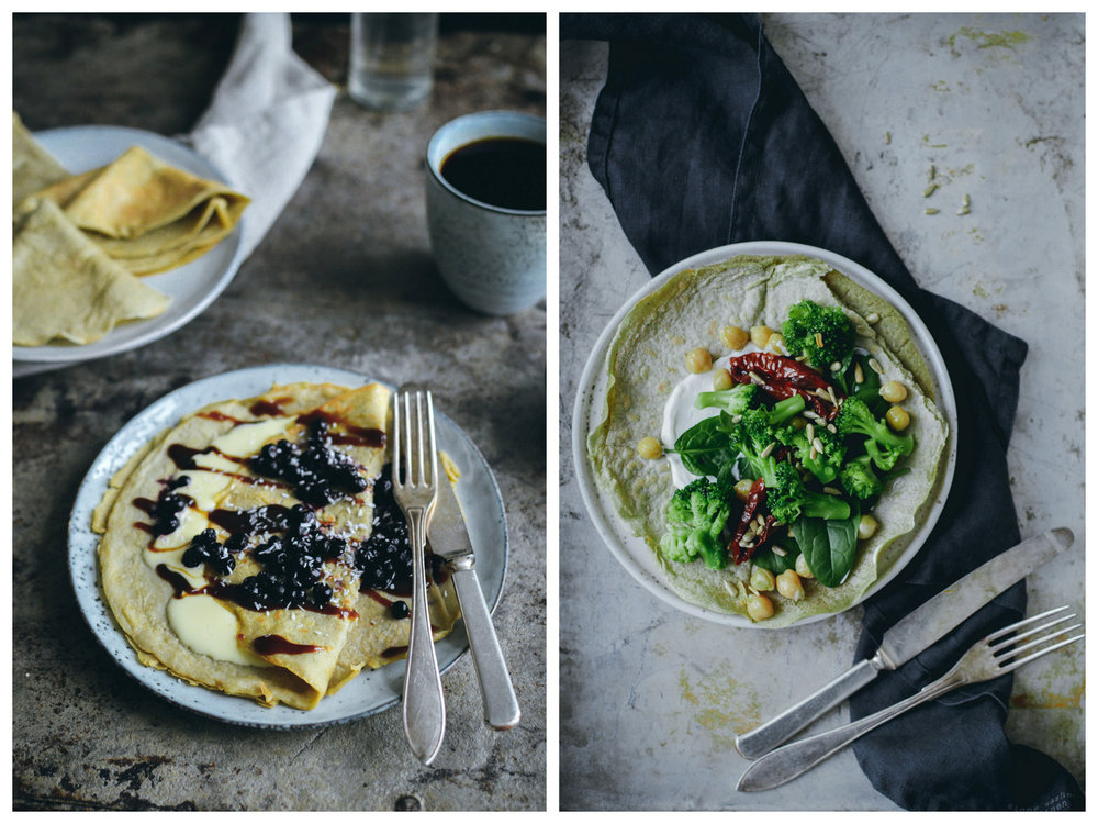 Green Pea Pancakes | The Nordic Kitchen