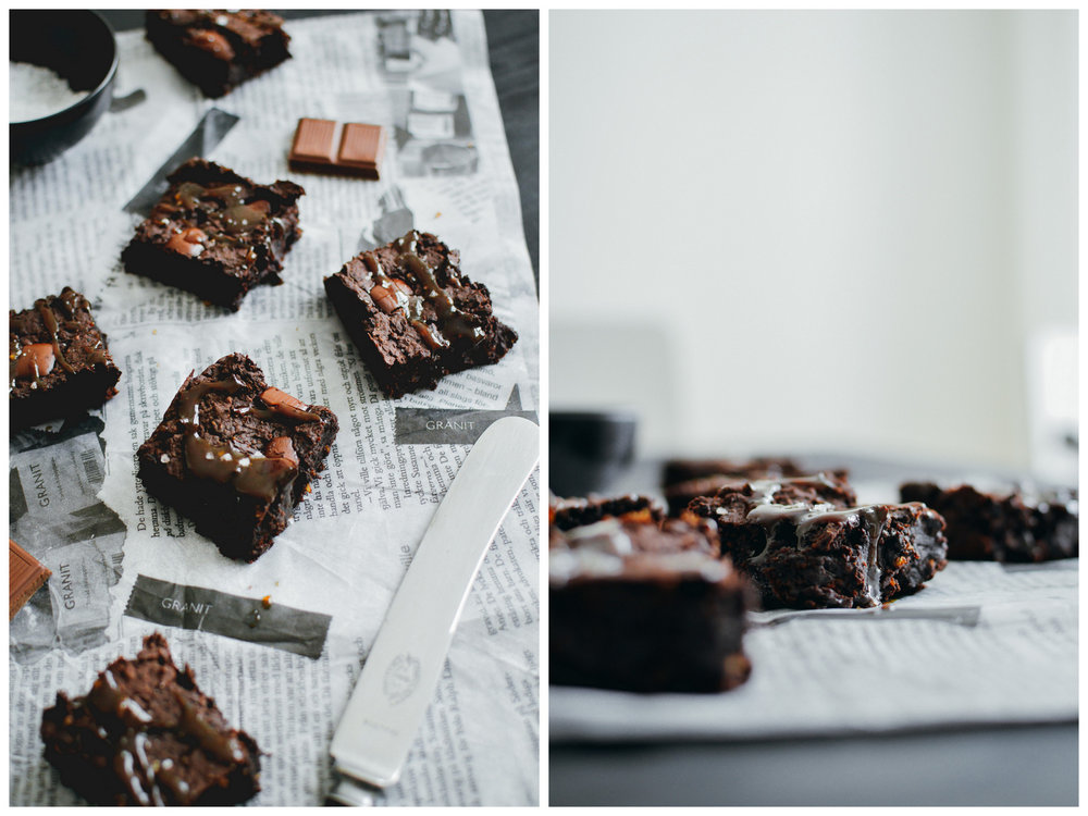 Glutenfree & Vegan Black Bean Brownies | The Nordic Kitchen