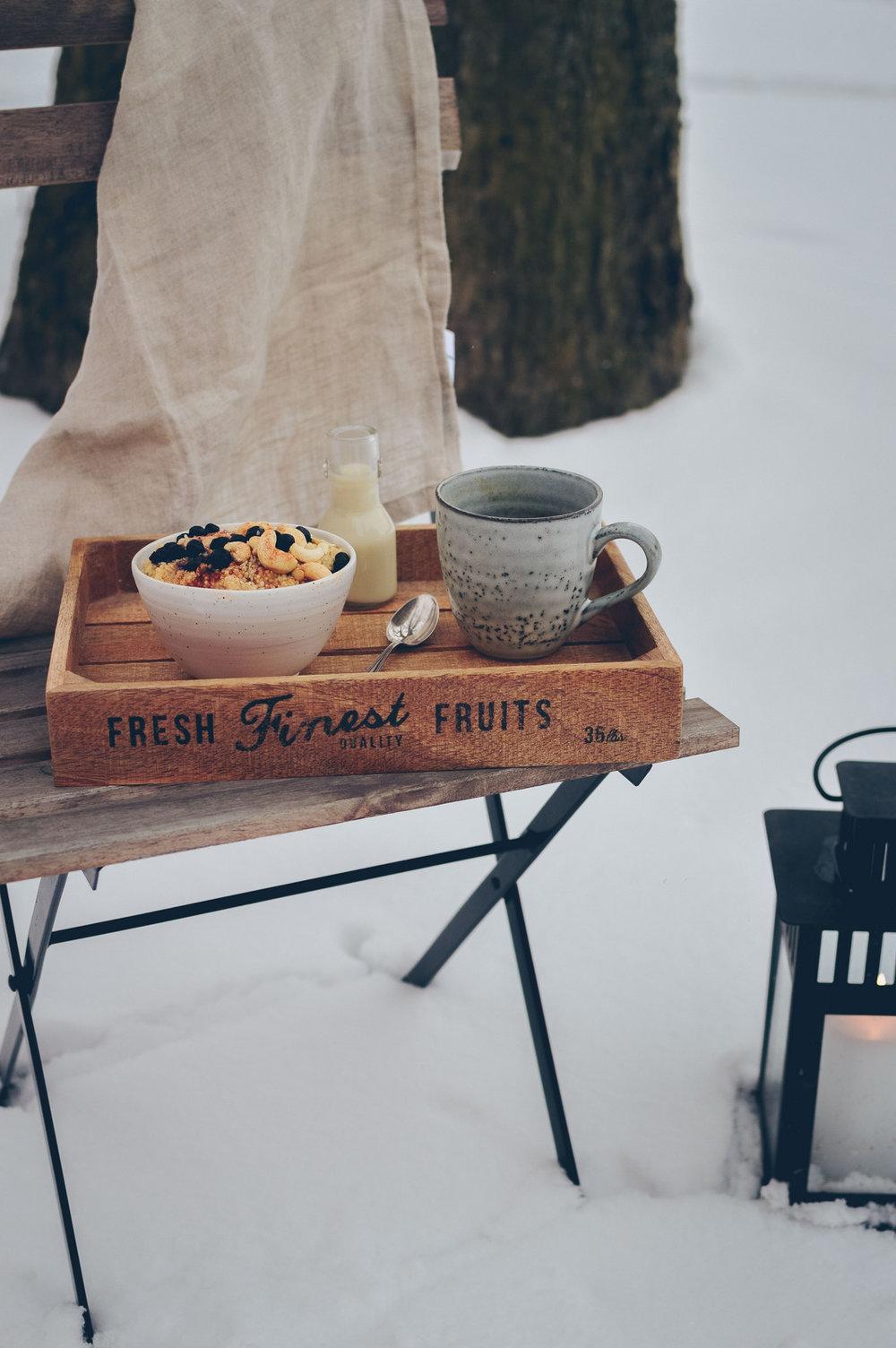 Millet Porridge | The Nordic Kitchen