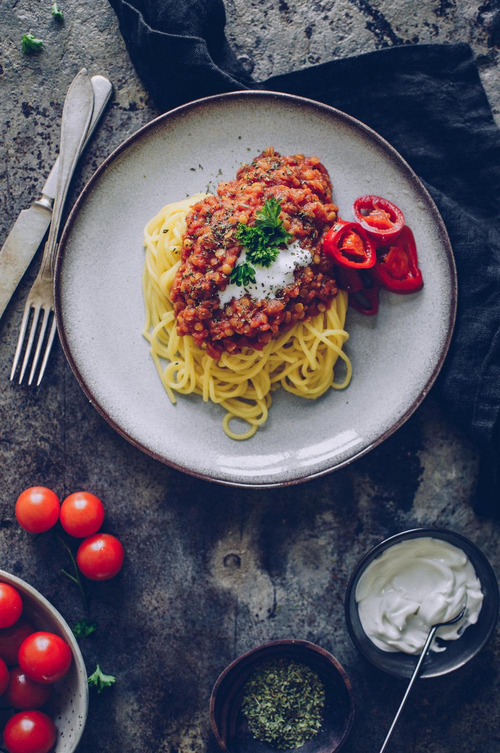 Plant-based Spaghetti Bolognese | The Nordic Kitchen