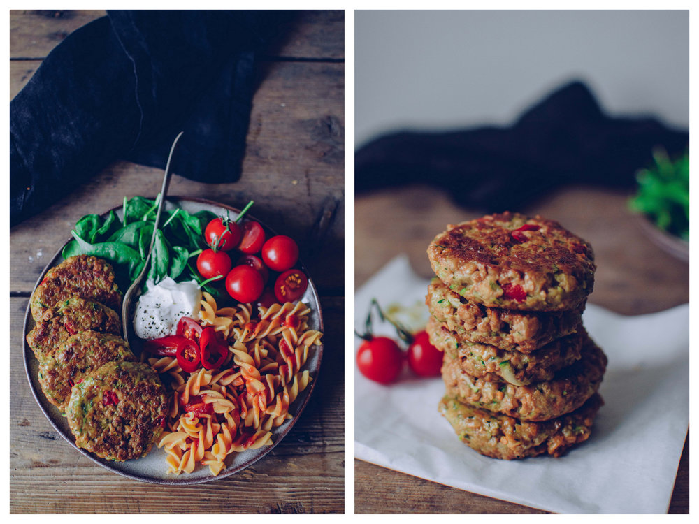 Veggie burgers with sun-dried tomatoes | The Nordic Kitchen
