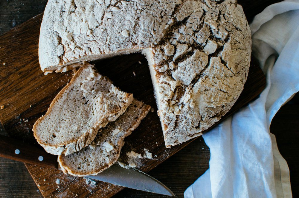 No-knead Glutenfree Bread | The Nordic Kitchen