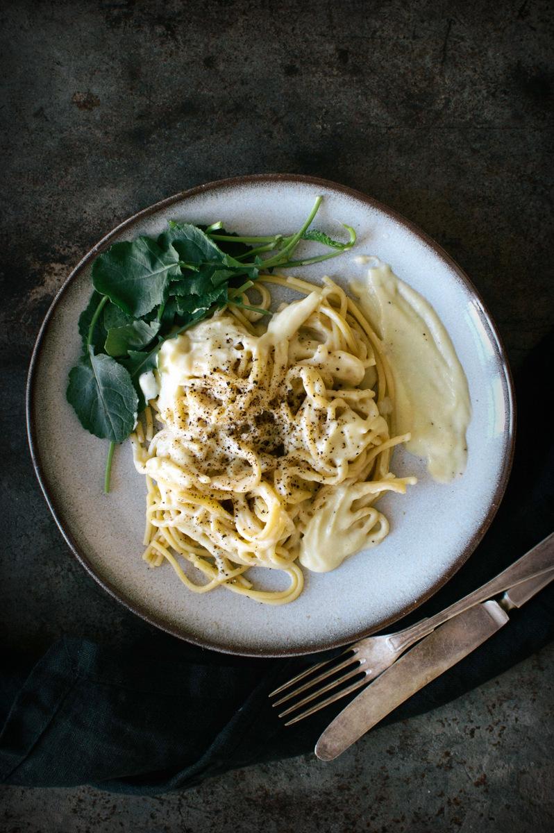 用花椰菜酱的意大利面|北欧厨房