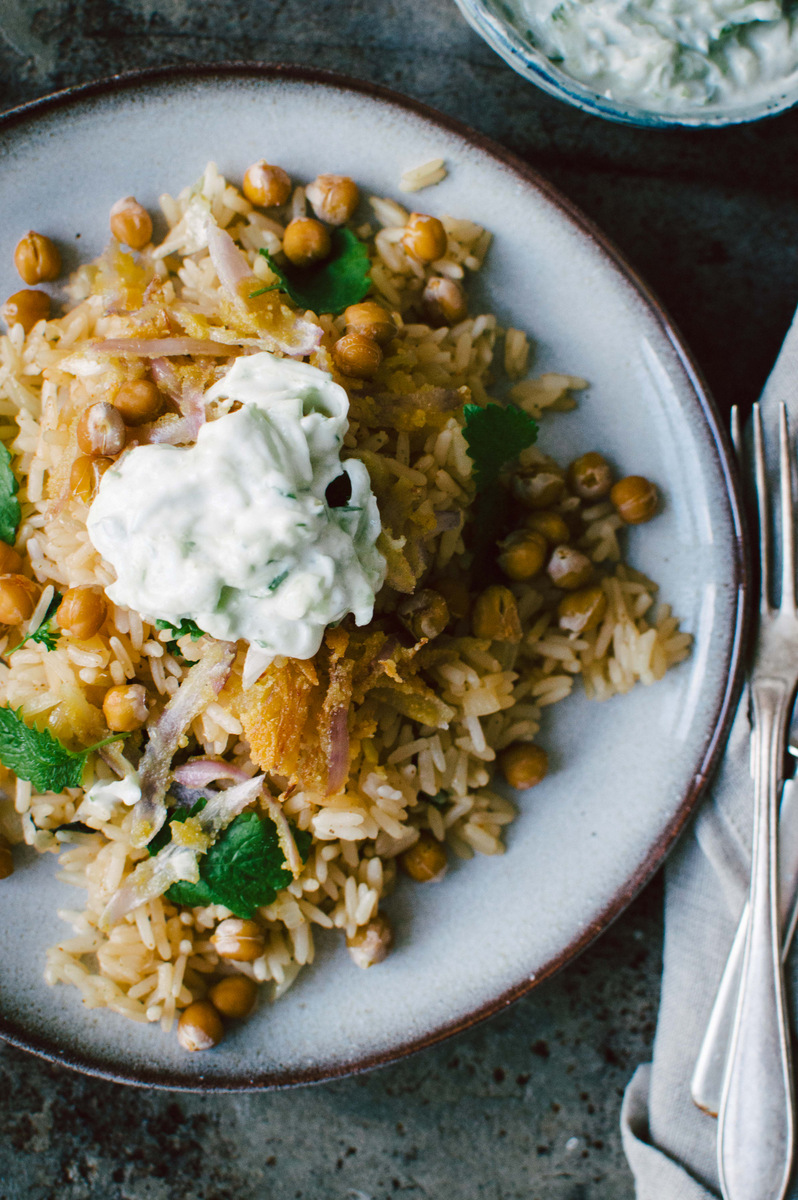 Vegan Pilaf with chickpeas | The Nordic Kitchen