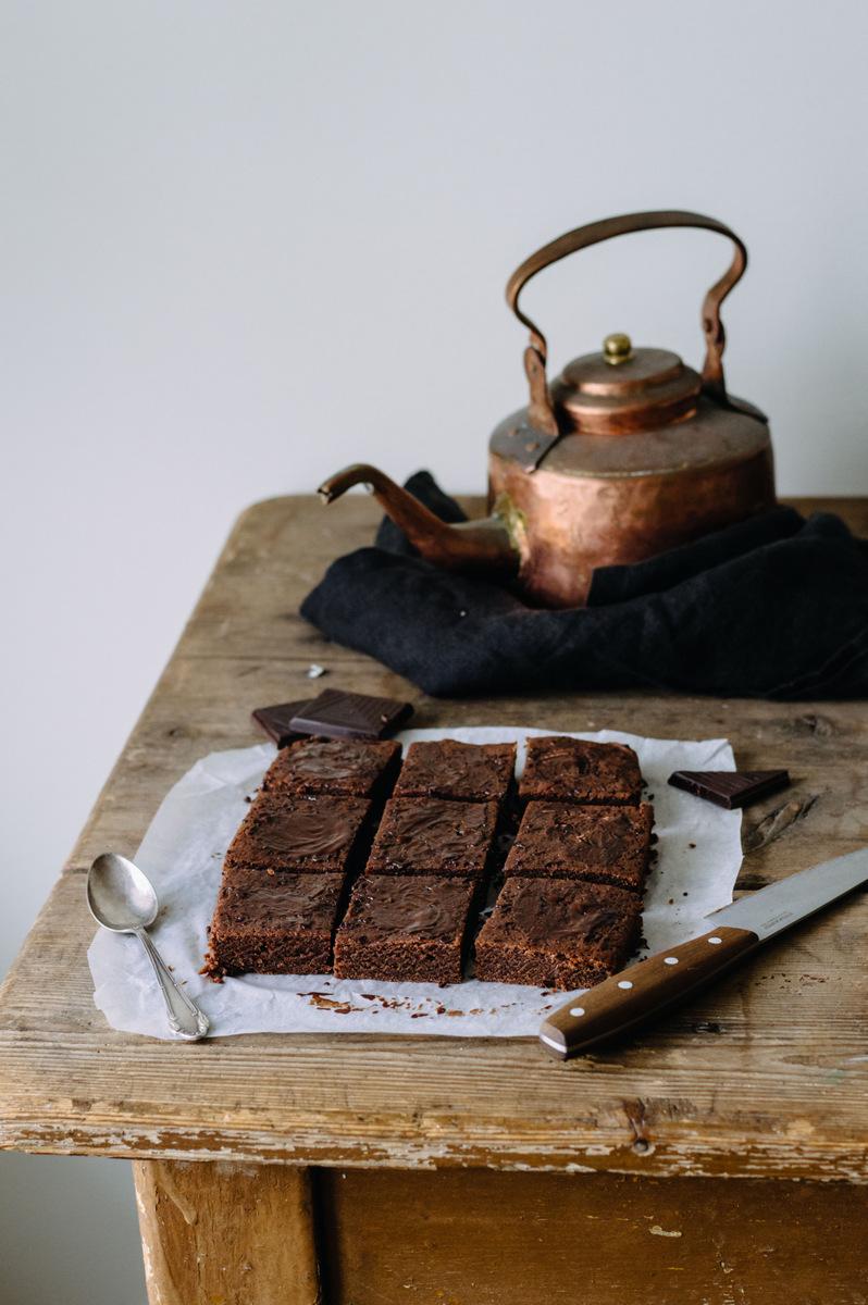 素食布朗尼 | 北欧厨房