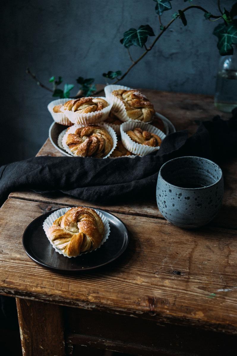 Vegan Cinnamon Buns | The Nordic Kitchen