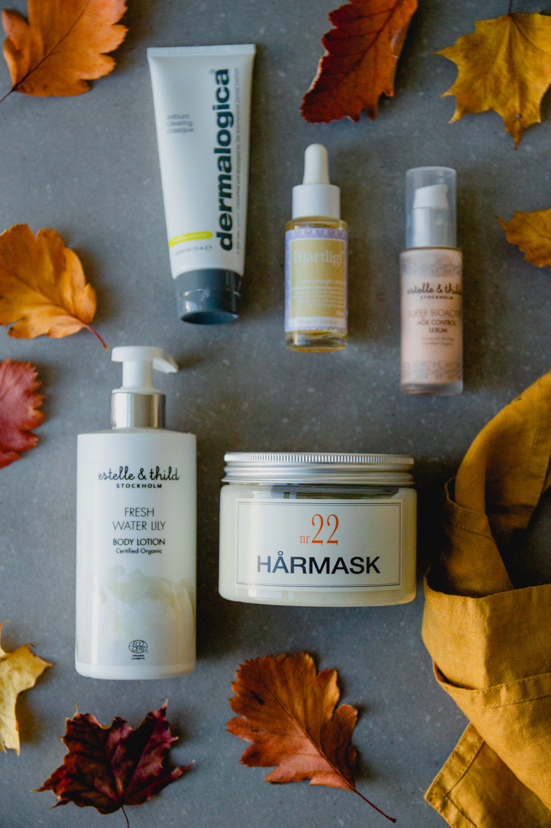 Autumn beauty | organic & vegan skincare | The Nordic Kitchen